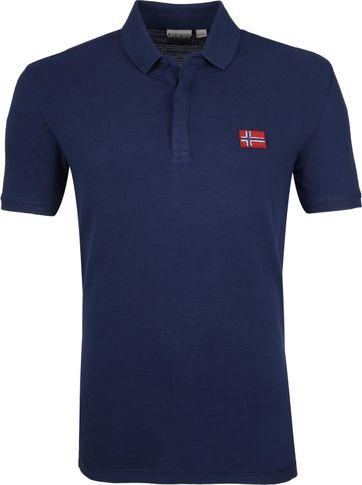 Napapijri Polo Shirt Enago Dark Blue