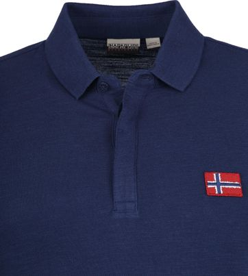 Napapijri Polo Shirt Enago Dark Blue