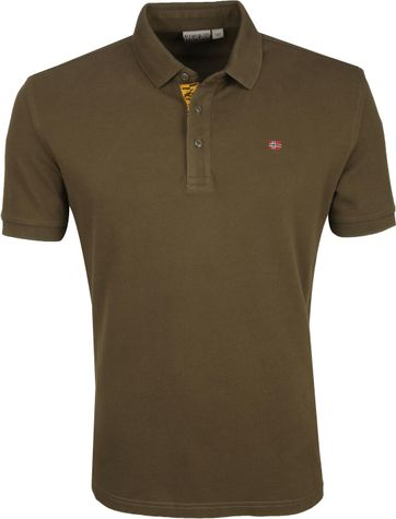 Napapijri Polo Shirt Eolanos Dark Green