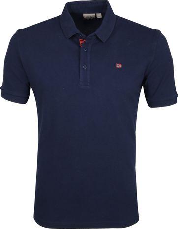 Napapijri Polo Shirt Eolanos Navy