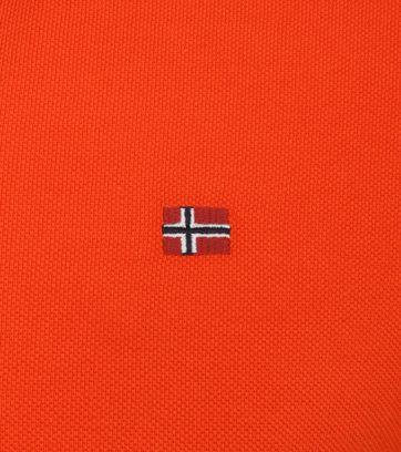 Napapijri Polo Shirt Eolanos Orange