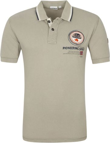 Napapijri Polo Shirt Gandy Beige