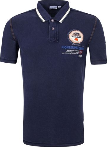 Napapijri Polo Shirt Gandy Marine Blue