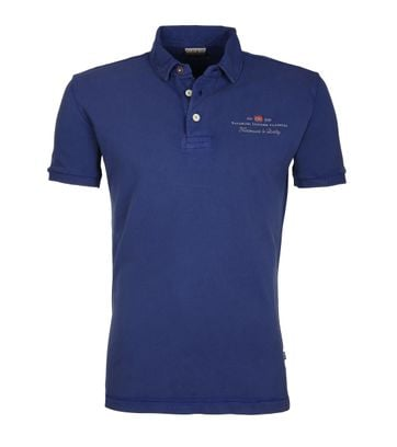 Napapijri Polo Stretch Elbas Blauw