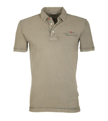 Napapijri Polo Stretch Elbas Khaki