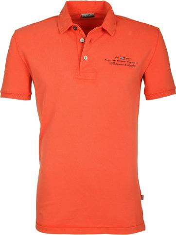 Napapijri Polo Stretch Elbas Orange