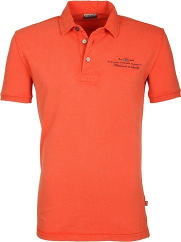 Napapijri Polo Stretch Elbas Oranje