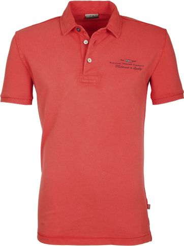Napapijri Polo Stretch Elbas Rood