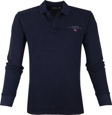Napapijri Poloshirt Eisberg LS Navy