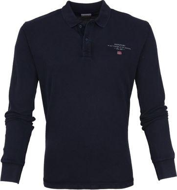 Napapijri Poloshirt Elbas 2 LS Navy