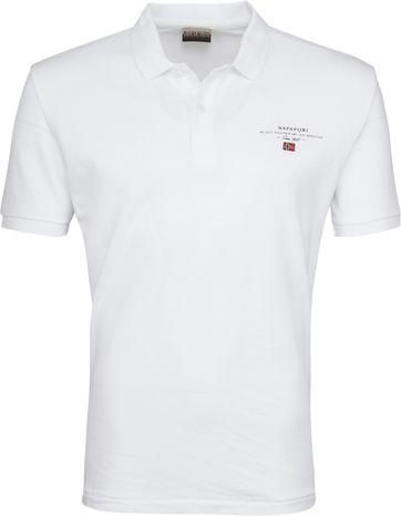 Napapijri Poloshirt Elbas 2 Weiß