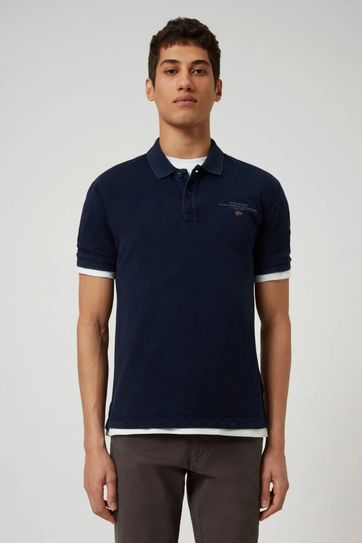 Napapijri Poloshirt Elbas 3 Dark Blue