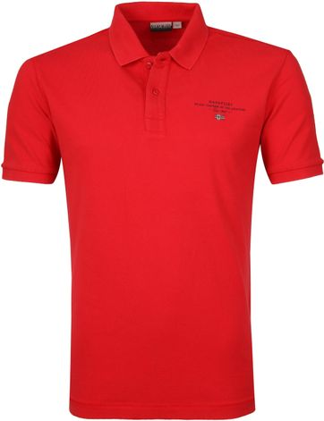 Napapijri Poloshirt Elbas 3 Rot