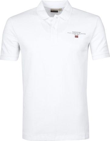 Napapijri Poloshirt Elbas 3 Weiß