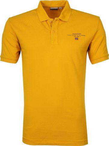 Napapijri Poloshirt Elbas 3 Yellow