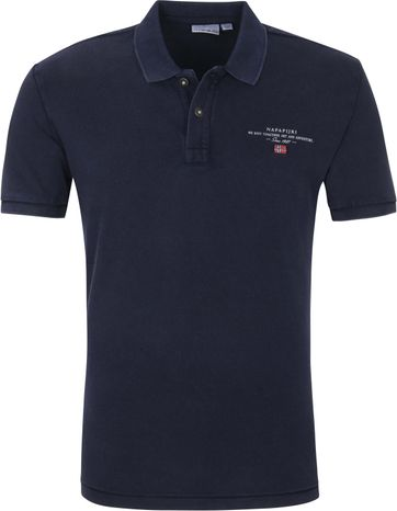 Napapijri Poloshirt Elbas 4 Navy