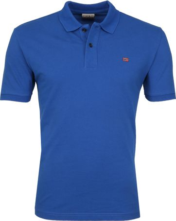 Napapijri Poloshirt Elios Cobalt