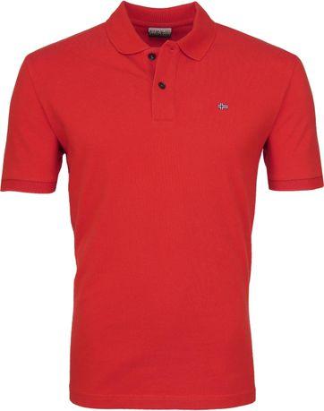 Napapijri Poloshirt Elios Red