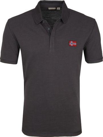 Napapijri Poloshirt Enago Dark Grey