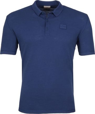 Napapijri Poloshirt Erzin Denim Blau