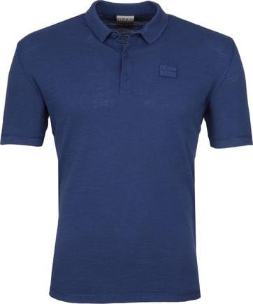 Napapijri Poloshirt Erzin Denim Blue