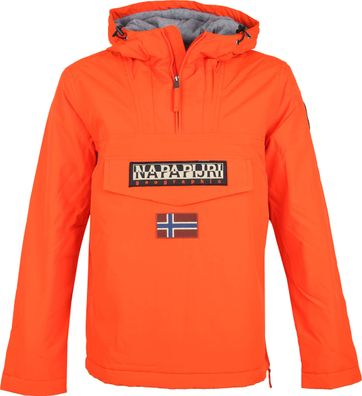 Napapijri Rainforest Anorak Jacke Orange