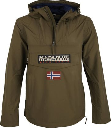Napapijri Rainforest Jacket Dark Green