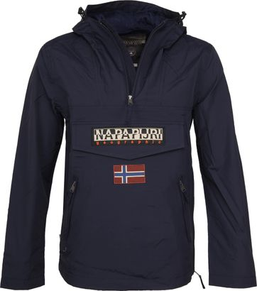 Napapijri Rainforest Pocket Dunkelblau Sommerjacke
