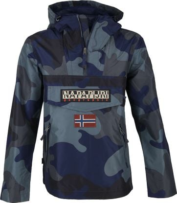 Napapijri Rainforest Pocket Jacke Camo