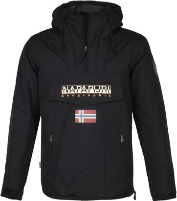 Napapijri Rainforest Pocket Jacke Schwarz