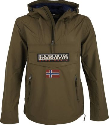 Napapijri Rainforest Pocket Jacket Army