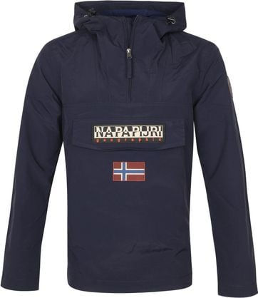 Napapijri Rainforest Pocket Jacket Blue Marine