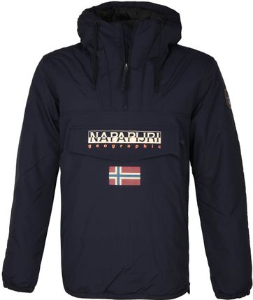 Napapijri Rainforest Pocket Jas Donkerblauw