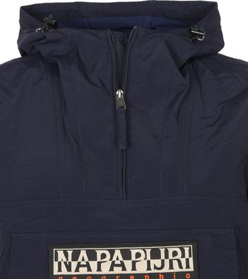 Napapijri Rainforest Pocket Jas Marine Blauw