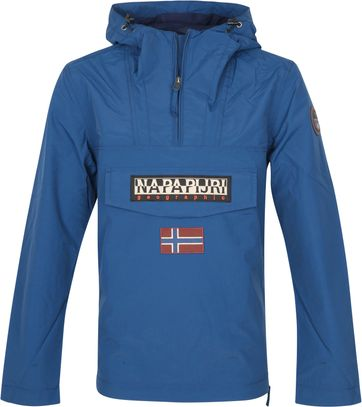 Napapijri Rainforest Pocket Jas Poseidon Blauw