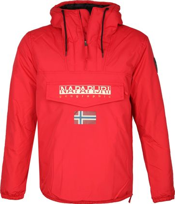 Napapijri Rainforest Pocket Jas Rood