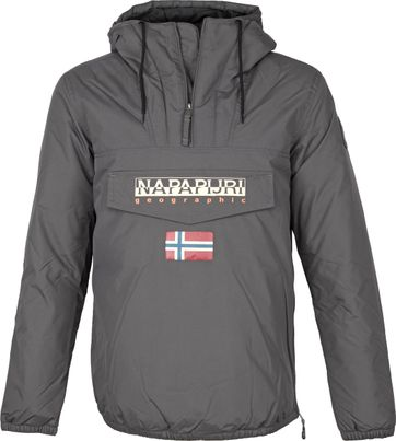 Napapijri Rainforest Shade Jacke Anthrazit