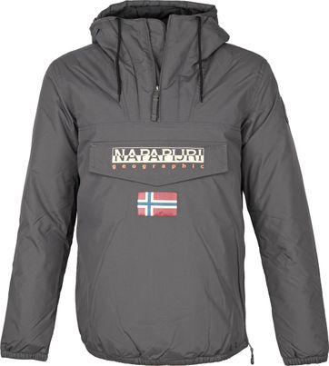 Napapijri Rainforest Shade Jacket Anthracite