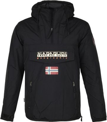 Napapijri Rainforest Shade Pocket Jacke Schwarz