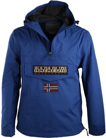 Napapijri Rainforest Summer Jacket Blue