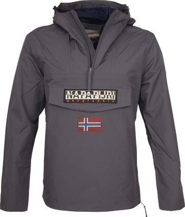 Napapijri Rainforest Summer Jacket Dark Grey