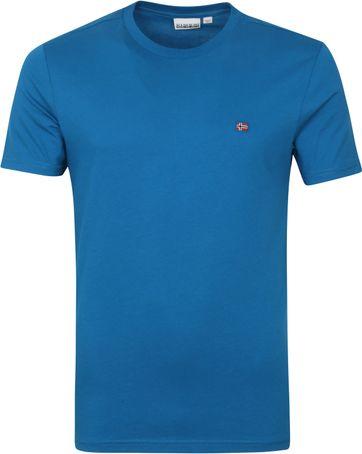 Napapijri Salis T-shirt Blauw