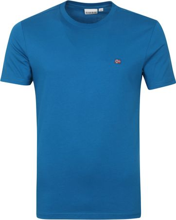Napapijri Salis T Shirt Blue