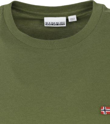 Napapijri Salis T Shirt Dark Green