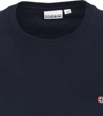 Napapijri Salis T-shirt Donkerblauw