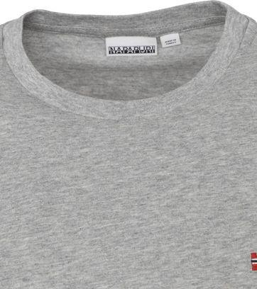 Napapijri Salis T Shirt Grau