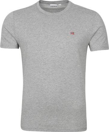 Napapijri Salis T-shirt Grijs