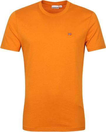 Napapijri Salis T Shirt Orange