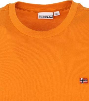 Napapijri Salis T Shirt Orange