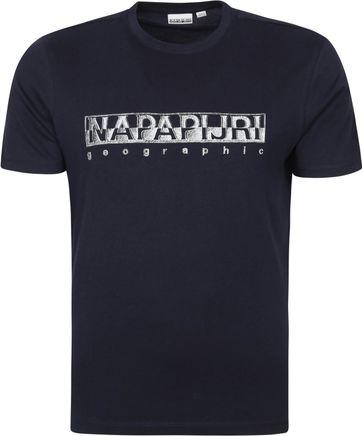 Napapijri Sallar T-shirt Donkerblauw